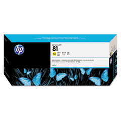 HP 81 (C4933A) Yellow Original Ink Cartridge