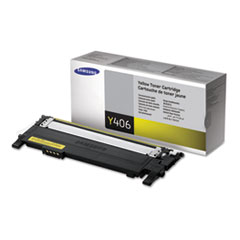CLTY406S Toner, 1000 Page-Yield, Yellow