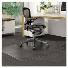COU ** DuraMat Chair Mat for Low Pile Carpet, 36w x 48h, Clear at Sears.com