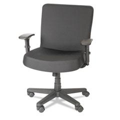 """Alera """"XL Series Big & Tall Mid-Back Task Chair, Black"""" at Sears.com"""