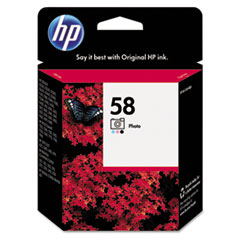 HP 58, (C6658AN) Photo Original Ink Cartridge