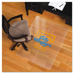 Collegiate Chair Mat for Hard Floors, 36 x 48, Tennessee Lady Volunteers