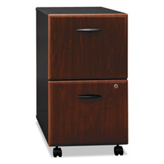 Mobile Pedestal (F/F) (Assembled) Series A, Hansen Cherry/Galaxy