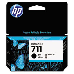 HP 711, (CZ129A) Black Original Ink Cartridge