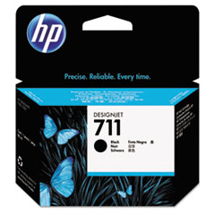HP 711, (CZ133A) Black Original Ink Cartridge