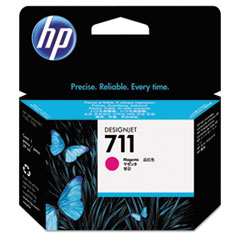 HP 711, (CZ131A) Magenta Original Ink Cartridge