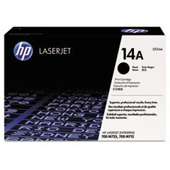 HP 14A, (CF214A) Black Original LaserJet Toner Cartridge