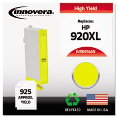 Remanufactured CD974AN (920XL) Ink, 700 Page-Yield, Yellow