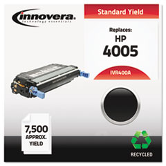 Remanufactured CB400A (642A) Laser Toner, 7500 Yield, Black