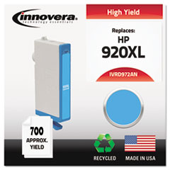 Remanufactured CD972AN (920XL) Ink, 700 Page-Yield, Cyan