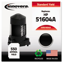 Remanufactured 51604A Ink, 550 Page-Yield, Black