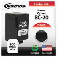 Remanufactured 0895A003 (BC20) Ink, 900 Page-Yield, Black
