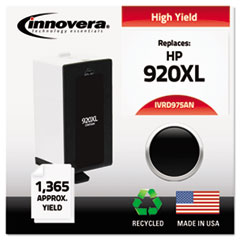 Remanufactured CD975AN (920XL) High Yield Ink, 1200 Page-Yield, Black