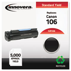 Remanufactured 0264B001AA (106) Toner, 5000 Yield, Black