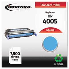 Remanufactured CB401A (642A) Laser Toner, 7500 Yield, Cyan