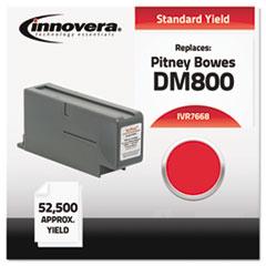 Compatible 766-8 Postage Meter Ink, Red