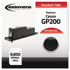 Compatible with 1388A003AA (GP200) Toner, 9600 Yield, Black