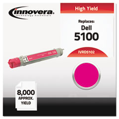 Compatible 310-5809 (5100) High-Yield Toner, Magenta
