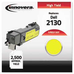Remanufactured 330-1438 (2130) High-Yield Toner, Yellow