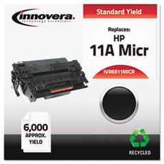 Remanufactured Q6511A(M) (11AM) MICR Toner, Black