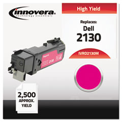 Remanufactured 330-1433 (2130) High-Yield Toner, Magenta