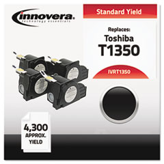 Compatible with T1350 Laser Toner, 4300 Yield, Black
