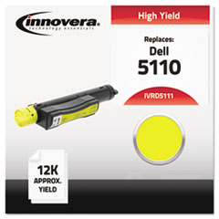 Compatible with 310-7895 (5110) Toner, 12000 Yield, Yellow