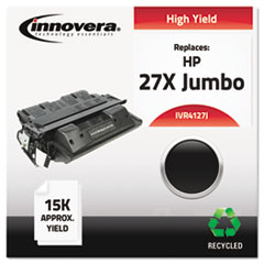 Remanufactured C4127X(J) (27XJ) High-Yield Toner, Black - Compatible