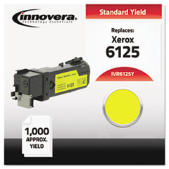Compatible 106R01333 (6125) Toner, Yellow
