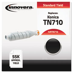 Compatible with TN710 Toner, 5500 Yield, Black