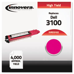 Compatible 310-5730 (3100) High-Yield Toner, Magenta