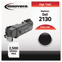 Compatible with 330-1436 (2130cn) Toner, 2500 Yield, Black