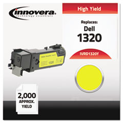 Remanufactured 310-9062 (1320) High-Yield Toner, Yellow