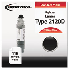 Compatible 89870 (Type 2120D) Toner, Black