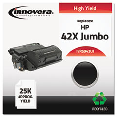 Remanufactured Q5942X(J) (42XJ) High-Yield Toner, Black