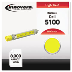 Compatible 310-5808 (5100) High-Yield Toner, Yellow