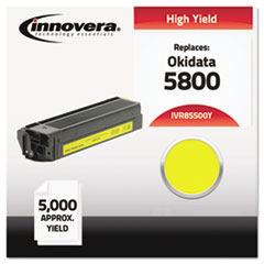 Compatible 43324401 (5500) Toner, Yellow