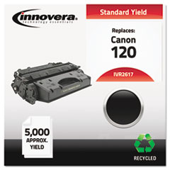 Remanufactured 2617B001AA (120) Toner, 5000 Yield, Black