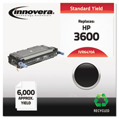 Remanufactured Q6470A (501A) Toner, Black - Compatible