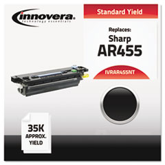 Compatible AR455NT High-Yield Toner, Black