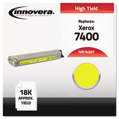 Compatible 106R01079 (7400) High-Yield Toner, Yellow