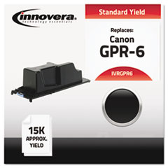 Compatible with 6647A003AA (GPR6) Toner, 15000 Yield, Black