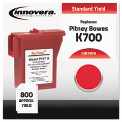 Compatible 797-0 Postage Meter Ink, Red