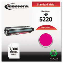 Remanufactured CE743A (CP5225) Toner, 7300 Page-Yield, Magenta