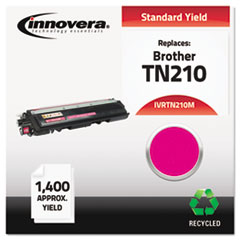 Remanufactured TN210M Toner, 1400 Page-Yield, Magenta