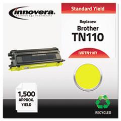 Remanufactured TN110Y Toner, Yellow