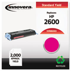 Remanufactured Q6003A (124A) Toner, 2000 Yield, Magenta