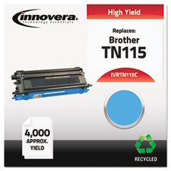 Remanufactured TN115C High-Yield Toner, Cyan