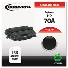 Remanufactured Q7570A (70A) Laser Toner, 15000 Yield, Black