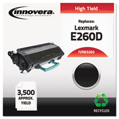 Remanufactured E260A21A (E260) Toner, Black